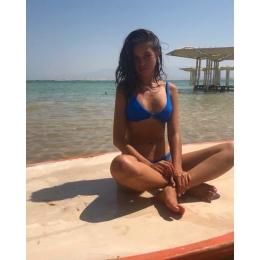 ST TROPEZ TOP BLUE